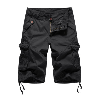 Mens Military Cargo Shorts 2018 Brand New Army Camouflage Shorts Men Cotton Loose Work Casual Short Pants Plus Size No Belt - thefashionique