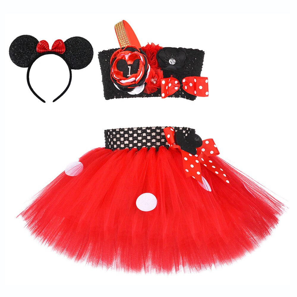 Minnie Mouse Christmas Dress.Mickey Mouse Kids Dresses For Girls Formal Wear Toddler Girl Christmas Dress Vestido Minnie Mouse Dress And Ears Minnie Headband