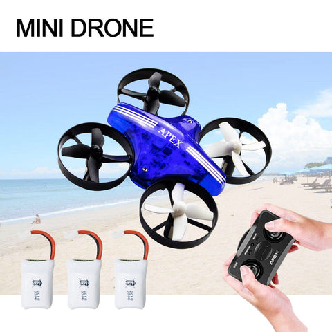 Mini Drone Dron Quadcopter Remote contral RC Drone Helicopter 2.4G 6 Axis Gyro Micro with Headless Mode Hold Altitude for adults - thefashionique