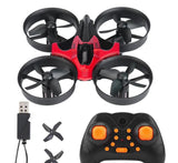 Mini RC Drone LED Remote Control Quadcopter 4CH 6-axle multicopter RC selfie Drone Quadcopter Model Helicopter Remote Control - thefashionique