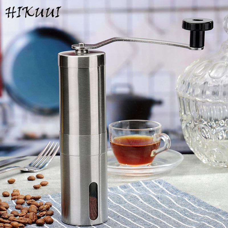 Multi-purpose Stainless Steel 30g/40g Manual Coffee Pepper Grinder Detachable Coffee Machine Portable Coffee Mill Hand Tools - thefashionique