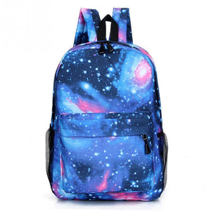 Multicolor Women Canvas Backpack Stylish Galaxy Star Universe Space Backpack Girls School Backbag Mochila Feminina 2018 - thefashionique