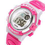 Multifunction Sports Electronic Sport Digital Wrist Watch For Child Girl Boy - thefashionique