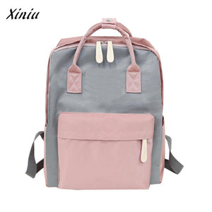 Multifunction women backpack fashion youth korean style shoulder bag laptop backpack schoolbags for teenager girls boys #3 - thefashionique