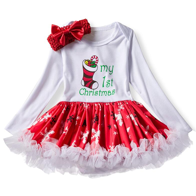 Christmas Baby Girl Snowman Dress Keepfit Toddler Kid Long Sleeve Party Princess Outfit Clothes