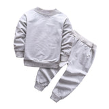 NEW 2017 Spring Baby Boys Clothing set Casual Sport patrulha pata Tracksuit Infant Toddler boys Clothes Top T shirt + Pants - thefashionique