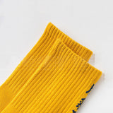 NEW Original Design Chinese Characters Retro Harajuku SockS Hong Kong Wind Tide Socks Men and Women Couples Tube Cotton Socks - thefashionique