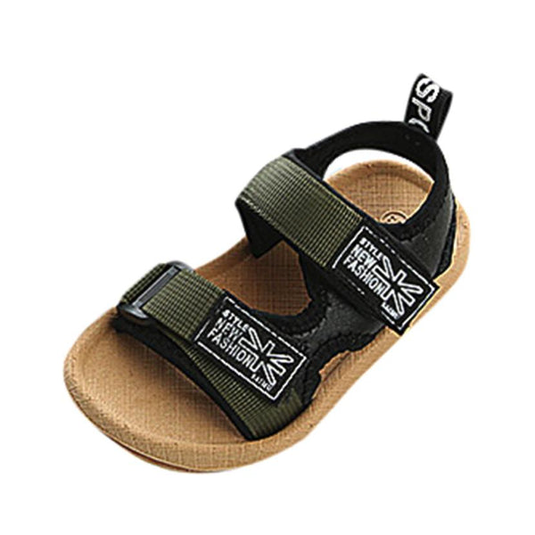 NEW Spring drop shipping School Baby Boys Beach Sandals Sneaker Toddler Children Patchwork Casual Single  Children's Shoes #BILL - thefashionique