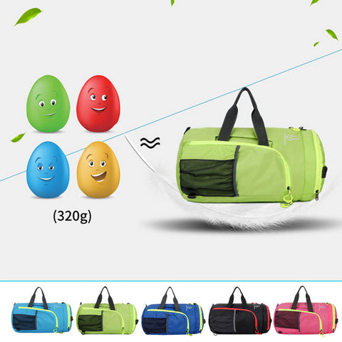 NIBESSER Travel Bag Portable Shoulder Functional Bag Folding Travel Daypacks Lightweight Nylon Bag Travel Luggage Duffle 47*26cm - thefashionique