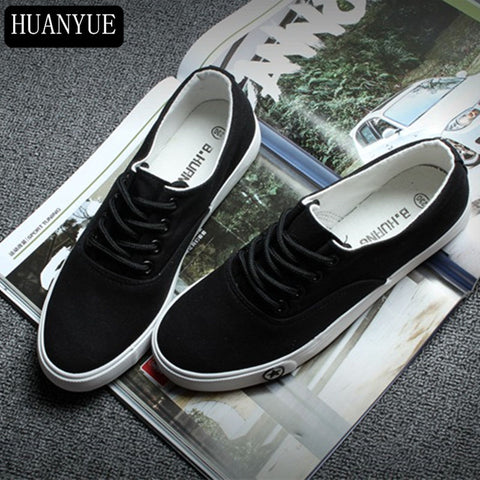 New 2018 Spring Summer Footwear Solid White Black Canvas Shoes Women's Vulcanize Shoes Casual For Walking Lace Up Breathable