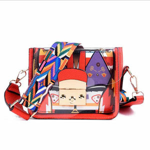 New 2019 Elegant Shoulder Bag Women Designer Luxury Handbags Women Bags Plum Bow Sweet Messenger Crossbody Bag