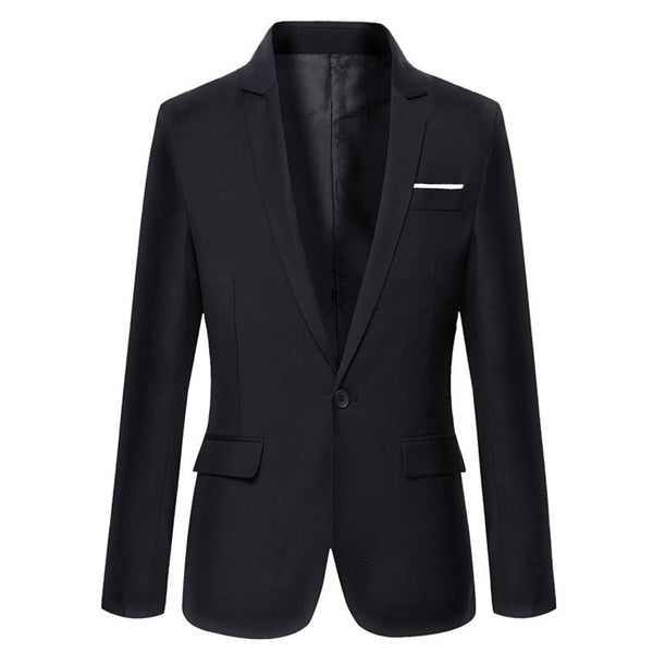 New Arrival Brand Clothing Autumn Suit Blazer Men Fashion Slim Male Suits Casual Solid Color Masculine Blazer Size M-3XL - thefashionique