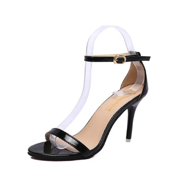 New Arrival Hot-selling Summer shoes Peep Toe Sweet Fashion Women's Sandals Thin Heel Pumps Princess High Heels Women Shoes m460 - thefashionique