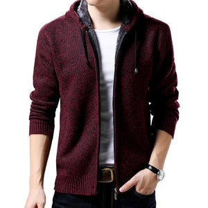 New Arrival Zipper Coat Casual Jacket Men Outdoors Fashion Clothes Thick Men's Coats