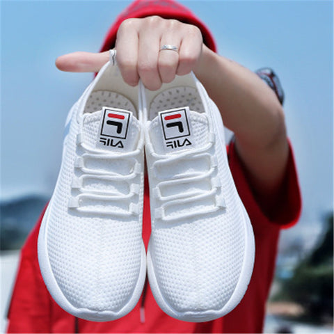 New Brand Summer Classic White EVA Men'S Sneaker Low-Cut Casual Flyweather Men'S Fashion Low To Help Fashion Men Casual Shoes - thefashionique