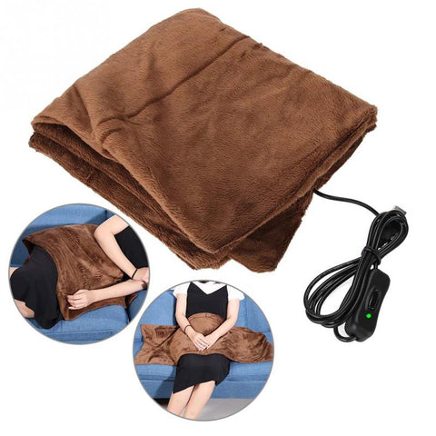 New Electric Winter Warm Heating Blanket Office Home Chair Pad Winter Warmer Heater Body Braces Supports Care - thefashionique