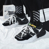 New Fashion 2020 Mesh Men Casual Shoes Lace-up Men Shoes Chunky Sneaker Daddy Ins Lovers Hot Sale Zapatos De Hombre Retro Shoes