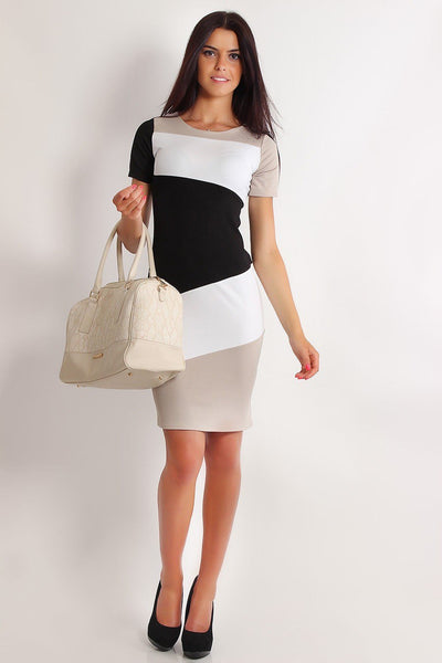 New Fashion Elegant women dress O-neck Short Sleeve Pencil Party Cocktail Bodycon Women Dresses - thefashionique