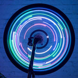 New High Quality Low Consumption Super Bright 20 LED USB Bicycle Bike Cycling Rim Lights LED Wheel Spoke Light String Lamp#94487 - thefashionique