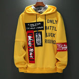 New Style Hoodie Long Sleeve Men's Hooded Sweatshirt Male Hoodie Casual Hip Hop