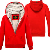 New Women's Sweatshirt Autumn and Winter 2018 Casual Solid Color Plus Velvet Thicker Hooded Long-sleeve Loose Sweatshirt Female - thefashionique