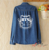 New autumn and winter 2017 European and American street Tide brand camouflage print cashmere coat kpop bts - thefashionique