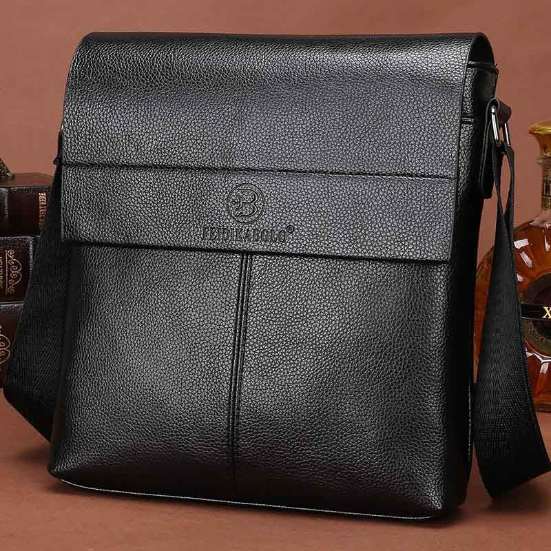 New collection 2018 fashion men bags, men casual leather messenger bag, high quality man brand business bag men's handbag - thefashionique