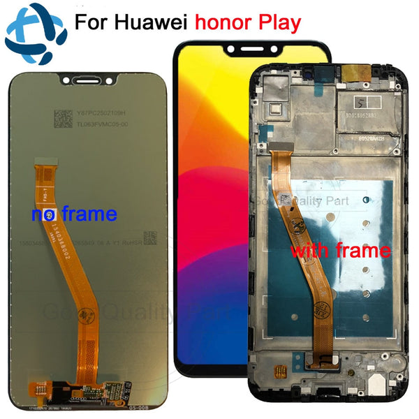 "New lcd For 6.3""Huawei Honor Play COR-L29 COR-AL00 COR-TL10 LCD Display Digitizer Touch Screen Assembly For Huawei honor play - thefashionique"