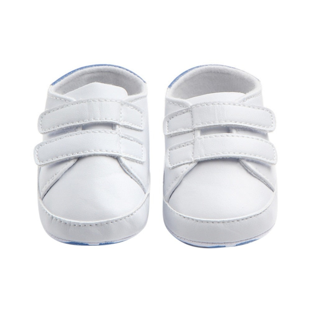 Newborn Baby Boys Shoes Solid Classic Infant Toddler Girls First Walkers Pram Crib Babe Sports Sneakers  SE01 - thefashionique