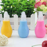 Newborn Baby Children Nose Aspirator Toddler Nose Cleaner Infant Snot Vacuum Sucker Soft Tip Cleaner Baby Care Products - thefashionique