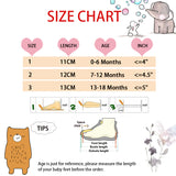 Newborn Baby Girl Shoes Cute Animal Princess Kid Anti-slip On Shoes 0-18 Months Toddler Crib Hook & Loop First Walkers - thefashionique