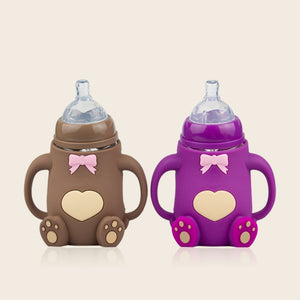 Newborn Baby Squeezing Feeding Bottle Infant Cereal Food Supplement Feeder  Baby Feeding Bottle  Baby Bottle  Feeding and Care