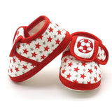 Newborn Infant Baby Star Girls Boys Soft Sole Prewalker Warm Ca 100% brand new and high quality. Pattern type: I Love Papa & Mam - thefashionique