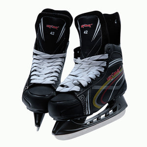 Newest Vik Max Ice Hockey Shoes Adult Child Ice Skates Professional Ball Knife Ice Hockey Ball Knife Shoes Real Ice Patines