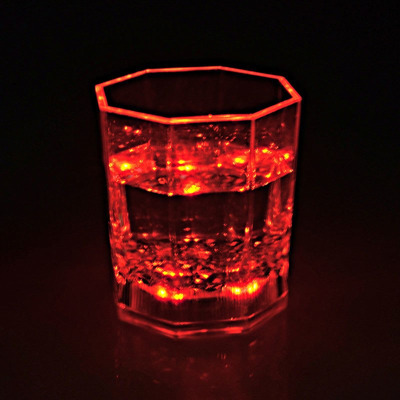 Newly Colorful Flashing Led Light cup Magic Led Champagne Glass Flash Wine Beer Bar Mug Drink Cup for Party Wedding KTV  Hot S - thefashionique