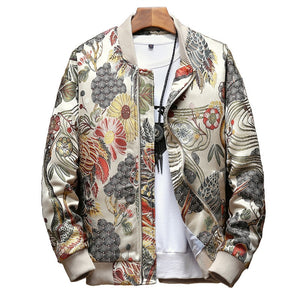 OKMJS Japanese Embroidery Men Jacket Coat Man Hip Hop Streetwear Men Jacket 2019 Autumn New  Coat Bomber Jacket Men Clothes - thefashionique