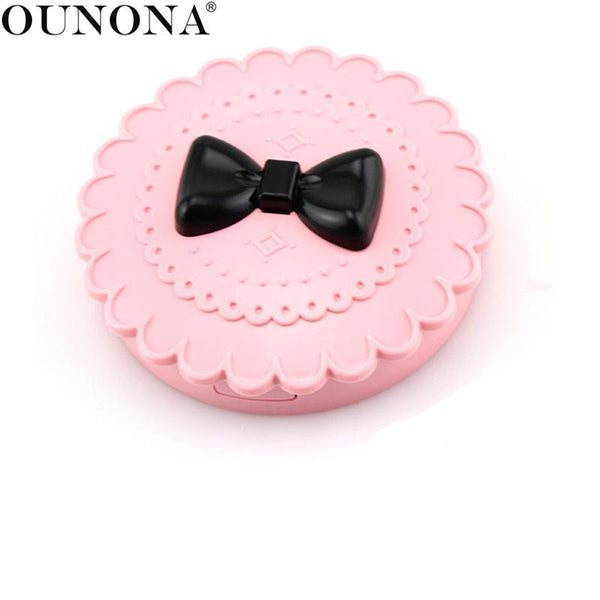 OUNONA Eyelash Case Box Makeup Cosmetic Mirror Holder Storage Box Organizer - thefashionique