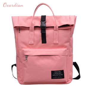 Ocardian Women Backpack Canvas Backpack Male Mochila Escolar Girls Laptop Backpack School Bags Backpack for teens - thefashionique