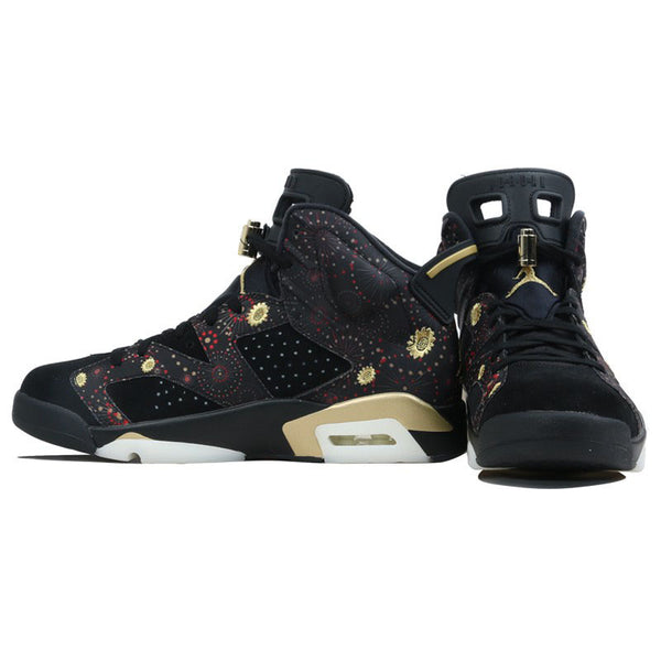 watch bfff4 66c27 Official Original nike First layer suede Air Jordan 6 CNY AJ6 Peony  embroidery Men's Basketball Shoes Outdoor Sports AA2492-021