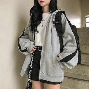 Oversized Hoodies Women Casual Long Sleeve Loose Sweatshirts Female