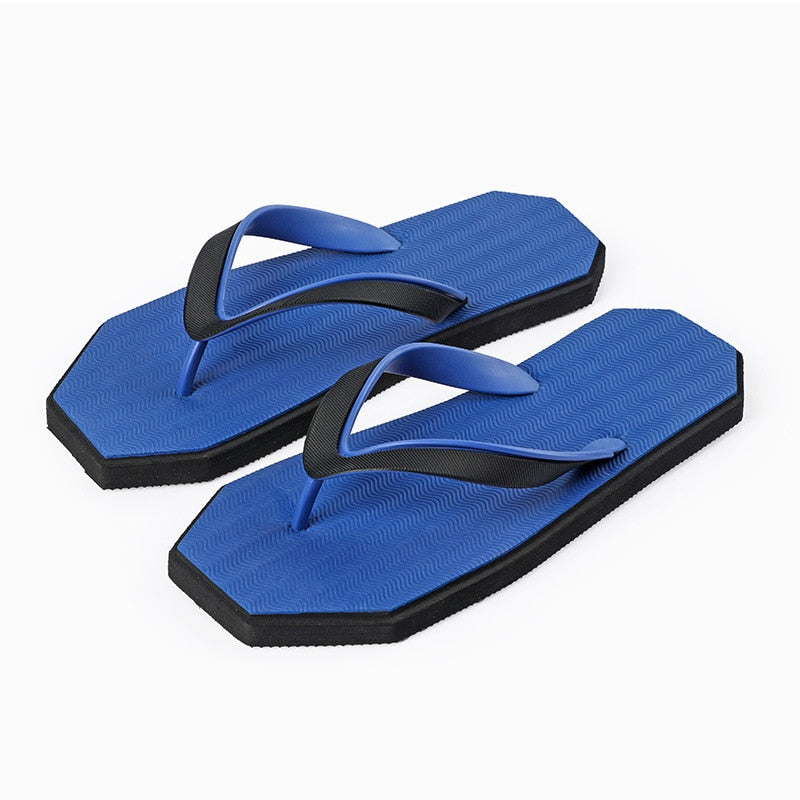 PJCMG Men Shoes Unisex Summer Slippers Fashion Outdoor Breathable Casual Couple Beach Sandal Flip Flops Shoes Beach Slippers - thefashionique