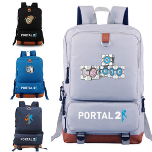 PORTAL 2 backpacks for gift for game fans game concept school bags backpack - thefashionique