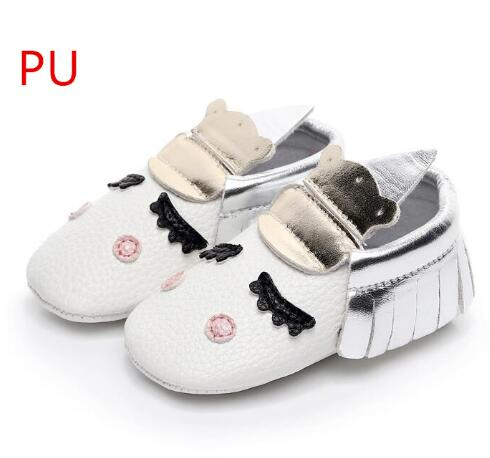 PU Leather Unique style newborn baby moccasins toddler baby christmas gifts party shoes Blush golden angle Unicorn Baby boot - thefashionique