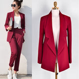 Pant Suits Women Casual Office Business Suits Formal Work Wear Sets Uniform Styles Elegant Pant Suits Drop Sale - thefashionique