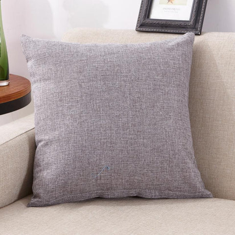 Pillow Case   Solid  Simple Fashion Throw Pillowcase 40*40cm Living room    Cafe    Home Textile  Pillow Cover  17DEC12