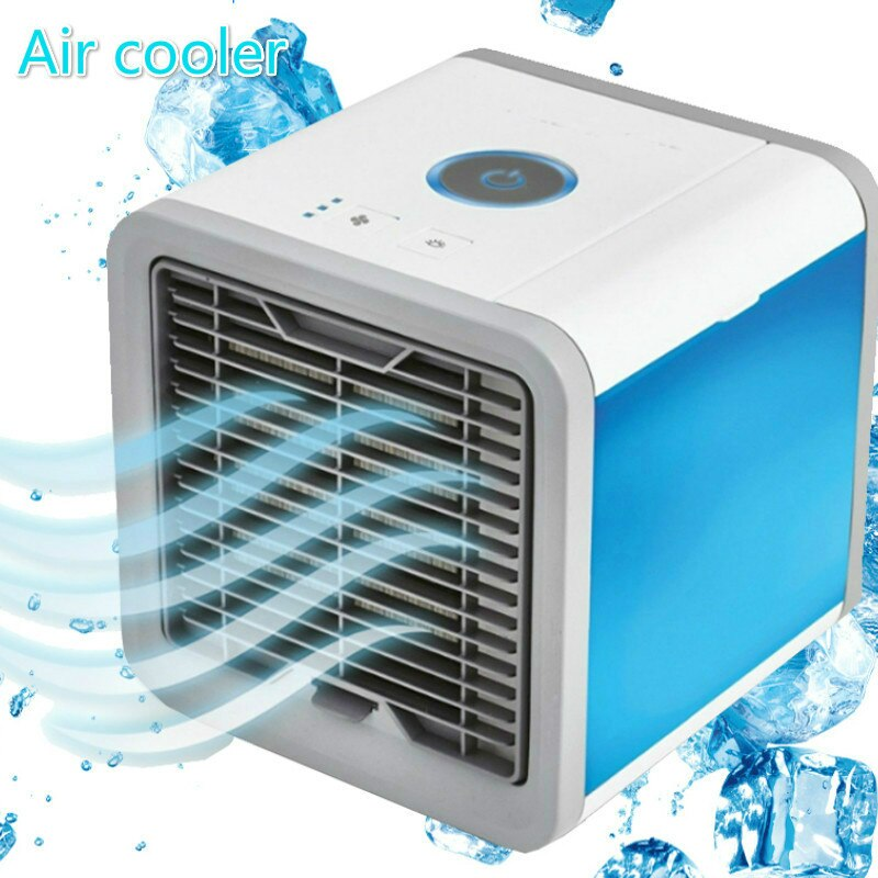 Portable Air Conditioner Fan 4 in 1 Personal USB Air Cooler Mini Purifier Humidifier Rechargeable Fan For Home  Office