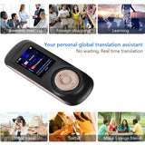 Portable Smart Wireless Translator  Handheld Real Time Interactive Instant Voice Translation Support 52 Languages No Noise - thefashionique