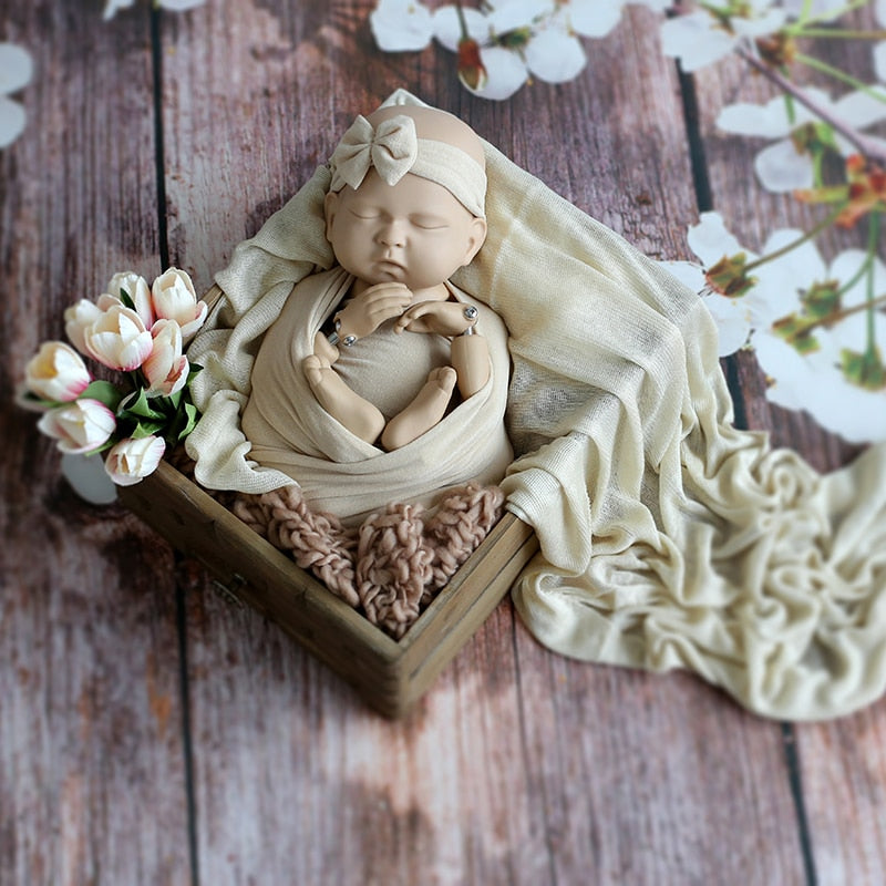 Posing Doll Photography Props High Quality Newborn Training Doll Photography Practice Baby Photography Aid Life Sized Mannequi - thefashionique