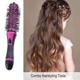 Professional Hair Combs1 Set Round Hair Brush Curl Hair Detachable Handle Combs Salon Hair Care Styling Tool - thefashionique