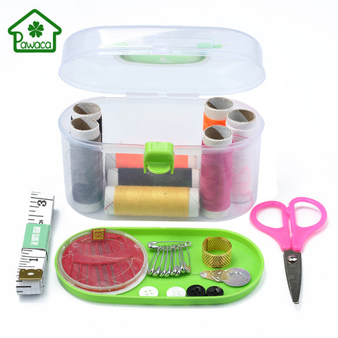 Professional Sewing Sets Household Thread Threader Needle Tape Measure Tailor Sewing Kits for DIY Arts Crafts Travel Sewing Box